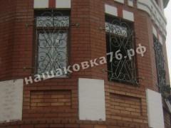 Кованые решетки на окно. фото №1