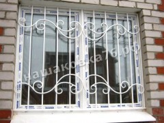 Кованые решетки на окно. фото №2