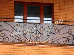 Кованое ограждение балкона. фото №9