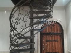 Винтовая кованая лестница. фото №6а