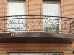 Кованое ограждение балкона. фото №5