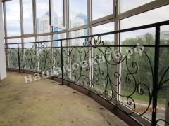 Кованое ограждение балкона. фото №2