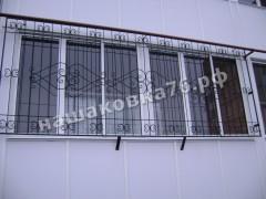 Кованые решетки на окно. фото №5