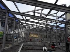 металлокаркас здания спорткомплекса. фото №5