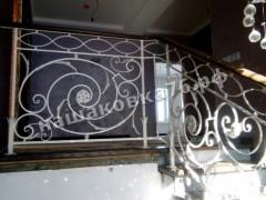Кованые лестничные ограждения. фото №12а