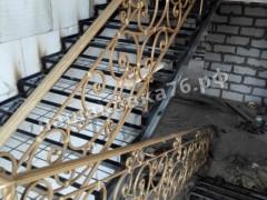 Кованые лестничные ограждения. фото №13а