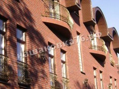 Кованое балконное ограждение. фото №10