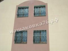 Кованая  решетка на окно. фото №11а