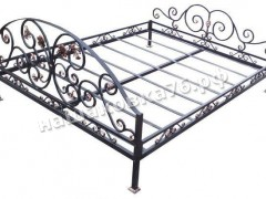 Кованая кровать. фото №9