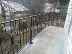 Кованое ограждение балкона. фото №4