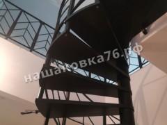 Ограждение винтовой лестницы. Фото №2а