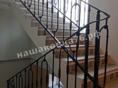 Кованые лестничные ограждения. фото №10
