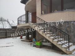 Кованые лестничные ограждения. фото №16а